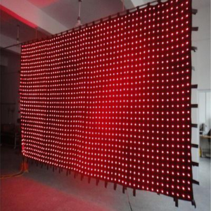 high lumen led curtain DJ Animation light LED Stage Lights /LED DMX Video cloth