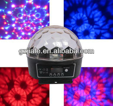 mini led crystal magic ball Christmas Decoration light