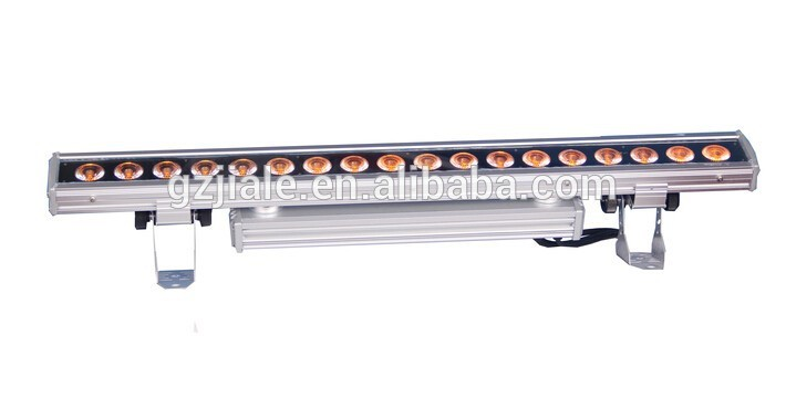 outdoor 18x15w RGBWA UV 6in1 led wall washer light