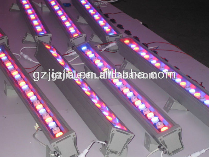 18x1w aluminum led wall wash light stage bar light
