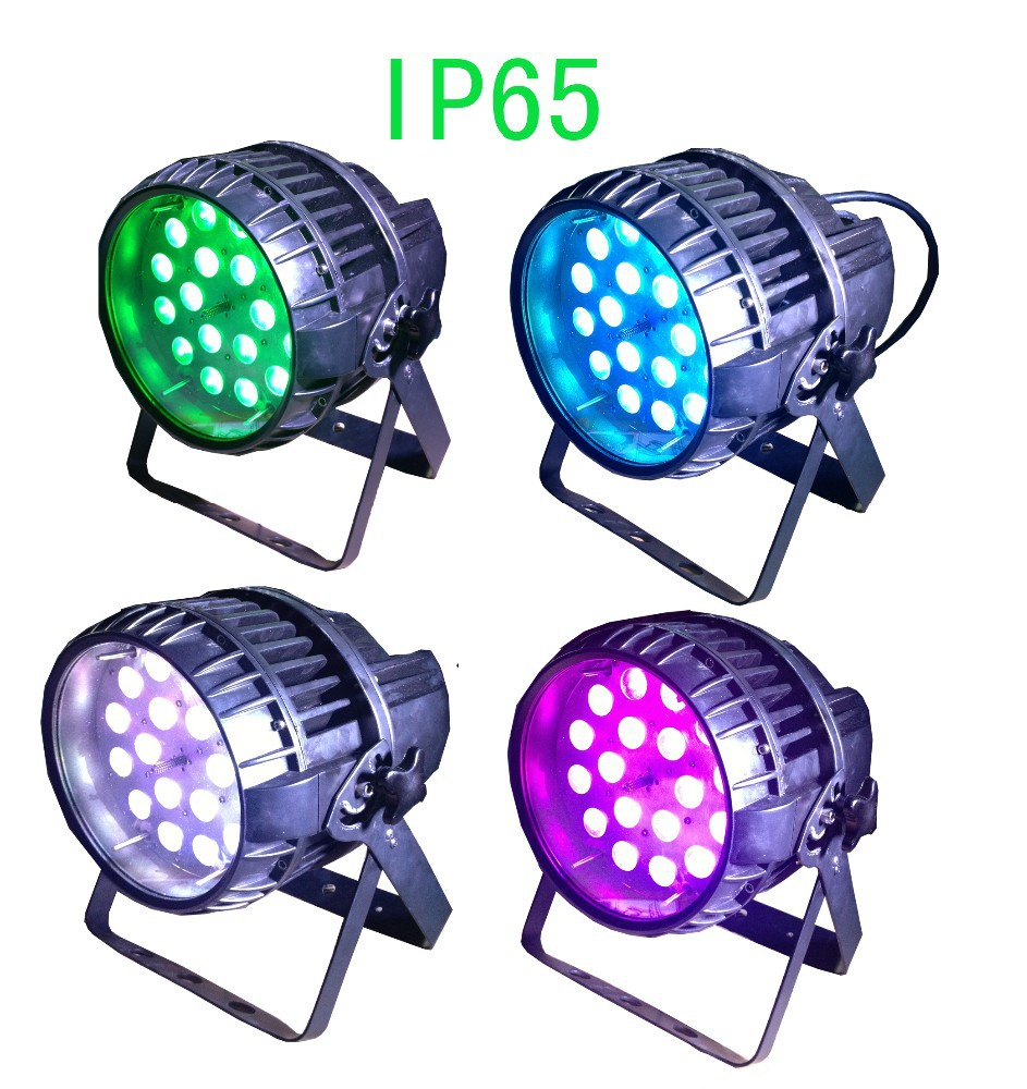 18*10w RGBW 4in1 led PAR Light Zoom Ip65