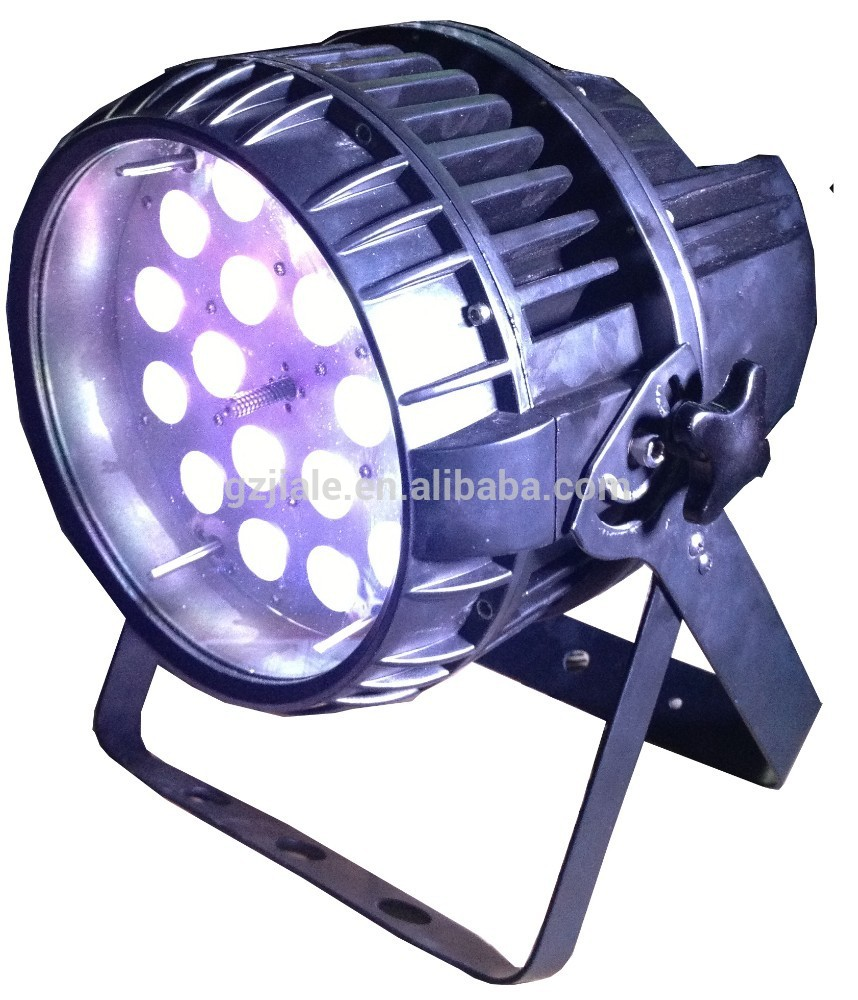 Wholesale Stage Event wedding multicolor uplights dmx RGBW waterproof 18 * 10w led par light professional stage lights