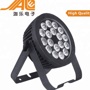 18pcs 15w RGBWA UV 6in1 Ip65 outdoor led par light
