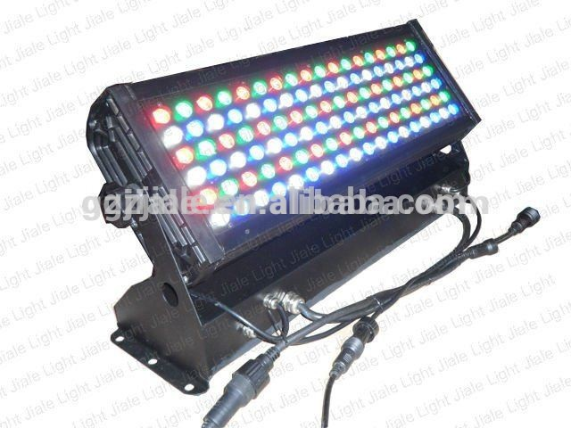 108pcs*3w aluminum housing outdoor ip65 dmx RGB-changed led wall washer lights