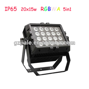 Newest 20x15w RGBWA 5in1 Outdoor Waterproof led stage light