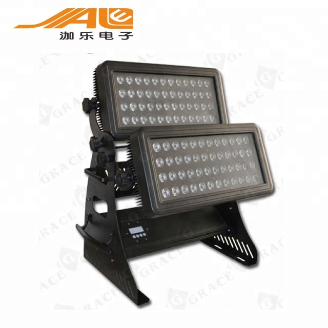 Top 1 Sales IP67 72*10W RGBW Outdoor Waterproof Led Light CE & RoHS Washer Light