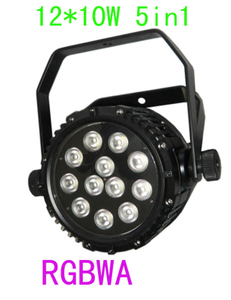 12*10w RGBWA 5 in1 DMX led stage light