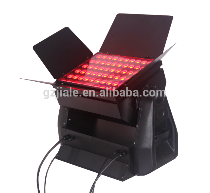 60*15w RGB 3in1 led city color