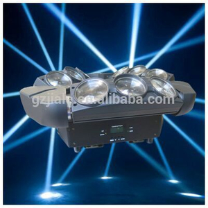 3 Heads Led Spider Beam Moving Light RGBW 9X10w Stage New Year Party Lights