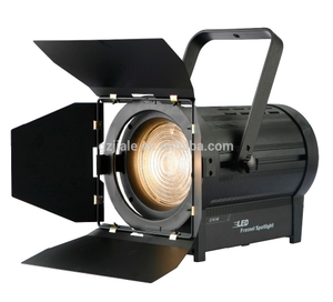 200w Fresnel Spot Theater Stage Lighting 3200k / 5700k Professional