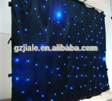 LED RGBW Star Curtain Backdrop/wedding stage backdrop