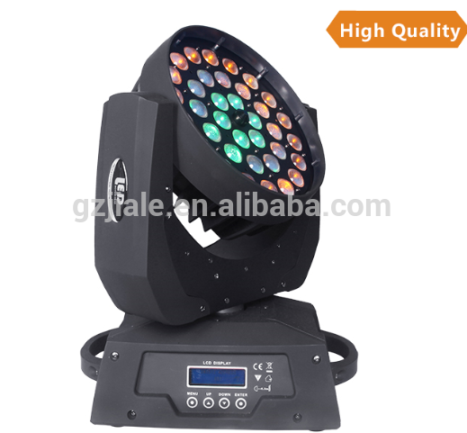 Led 36pcs 4in1 Wash Moving Head Light for Disco