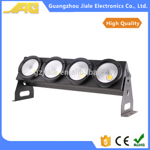 400w COB blinder light with DMX 4 eyes flood light