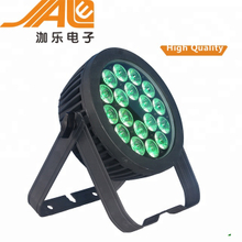 Top 1 Led Par Light dmx 18 x 15 W RGBW 4 IN 1 Multi Color Led Flat Par Light