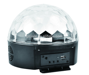 New Disco LED Mini Crystal Ball Effect Light for Christmas