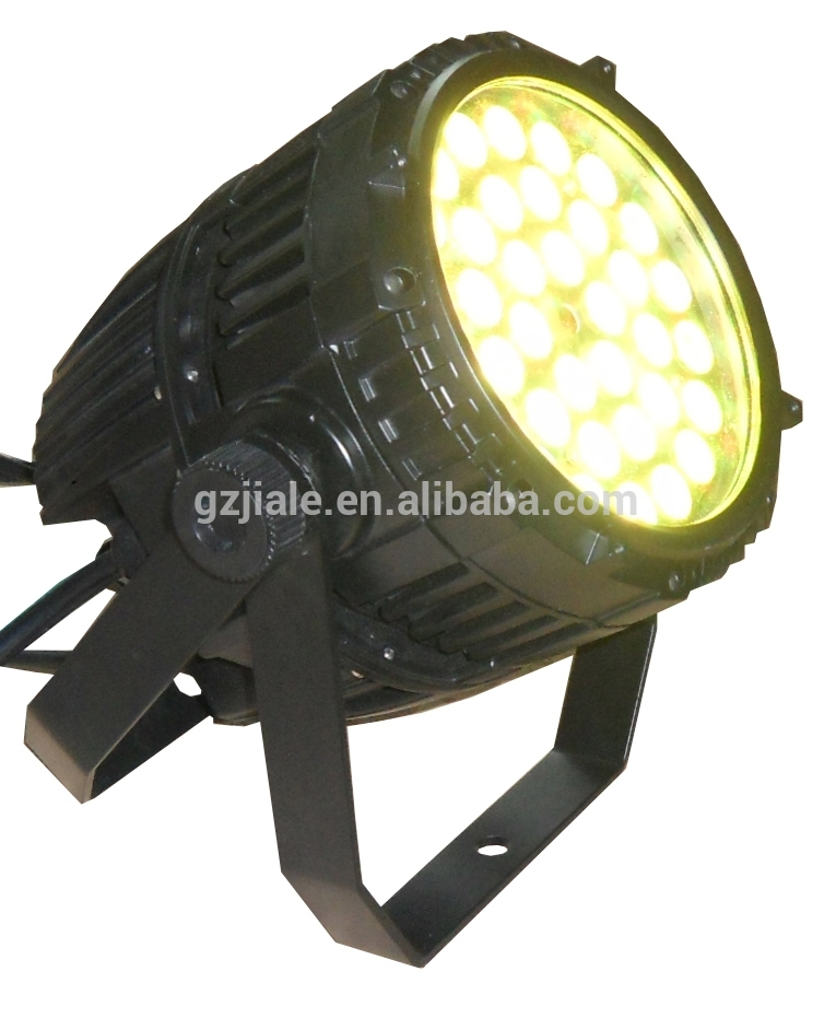 HOT Sell 36*10w RGBW 4in1 led outdoor stage light/ waterproof par light