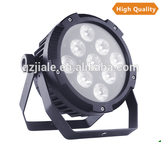 Wedding decoration 6in1 wireless 9x15W led battery lights