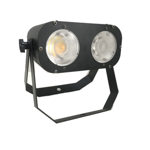 Individually Controlled 2PCS 60W RGBW 4in1 LED Audience Blinder Light Cob Par Light